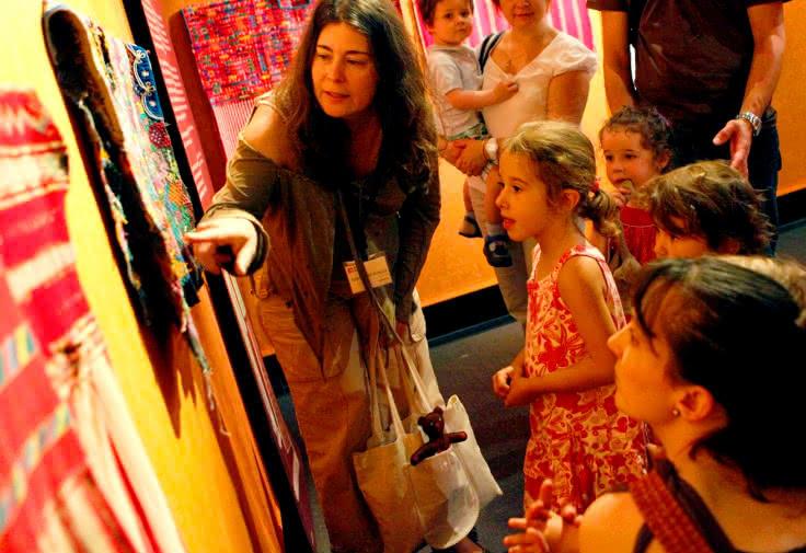 Visite jeune public musée Bargoin