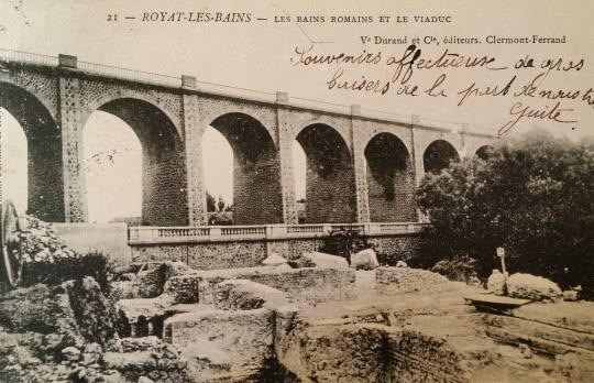 Viaduc et bains romains de Royat