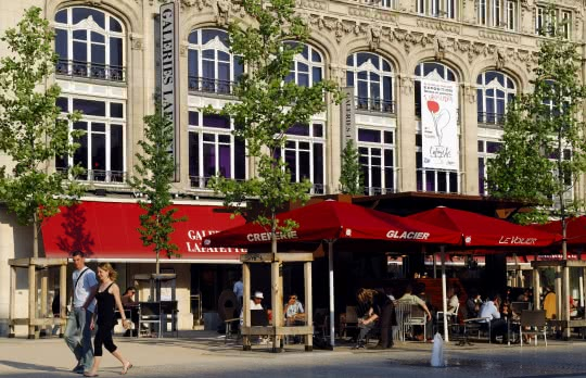 Grand magasin, Galeries Lafayettes