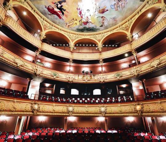 Interieur de l'Opéra-Théâtre de Clermont-Ferrand