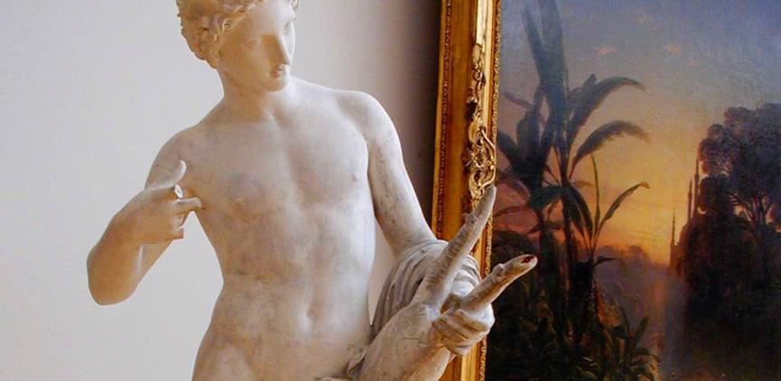Grande galerie du Musée d'Art Roger Quilliot