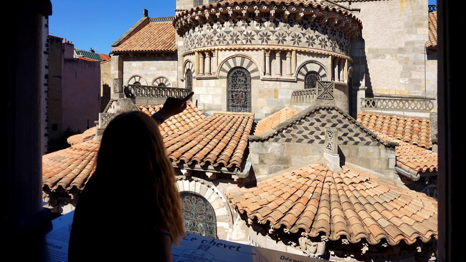 Belvédère de la basilique Notre-Dame du Port