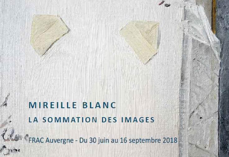 exposition FRAC mireille blanc