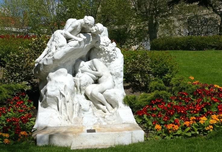 fontaine Byblis pleure