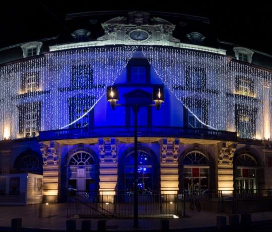 opera theatre illuminé