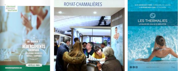 Brochures et salons