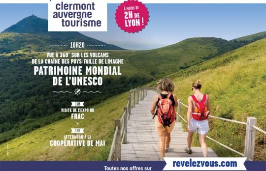 Affiche Lyon Chaîne des Puys - faille de Limagne web1000