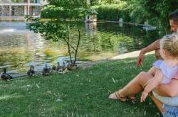 Famille au Jardin Lecoq