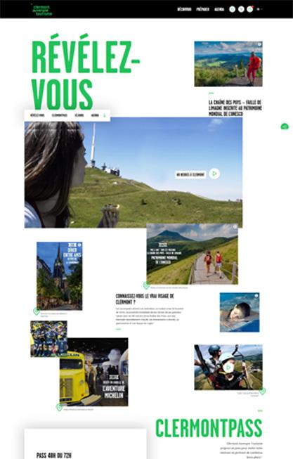 RÉVÉLEZ- VOUS - Clermont Auvergne Tourisme - www.clermontauvergnetourisme web300 v2