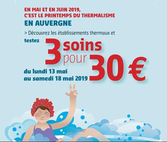 3 soins 30 euros