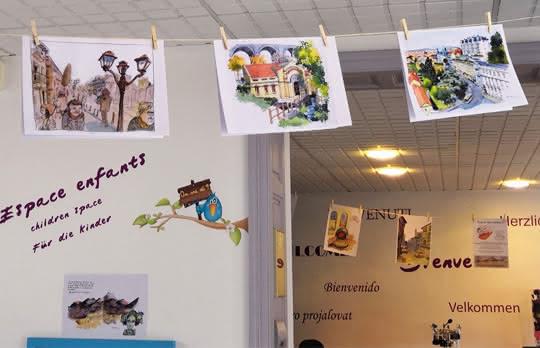 exposition bureau de Royat