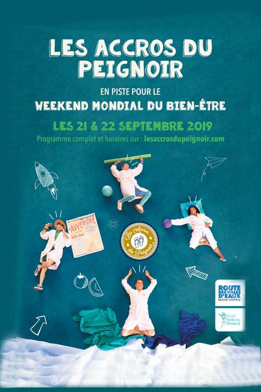 week-end mondial du bien être à Royat