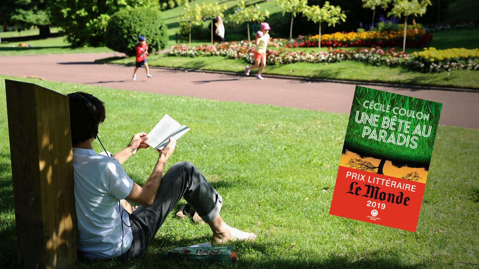 lire au jardin Lecoq