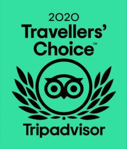 2020 traveller's Choice Tripadvisor