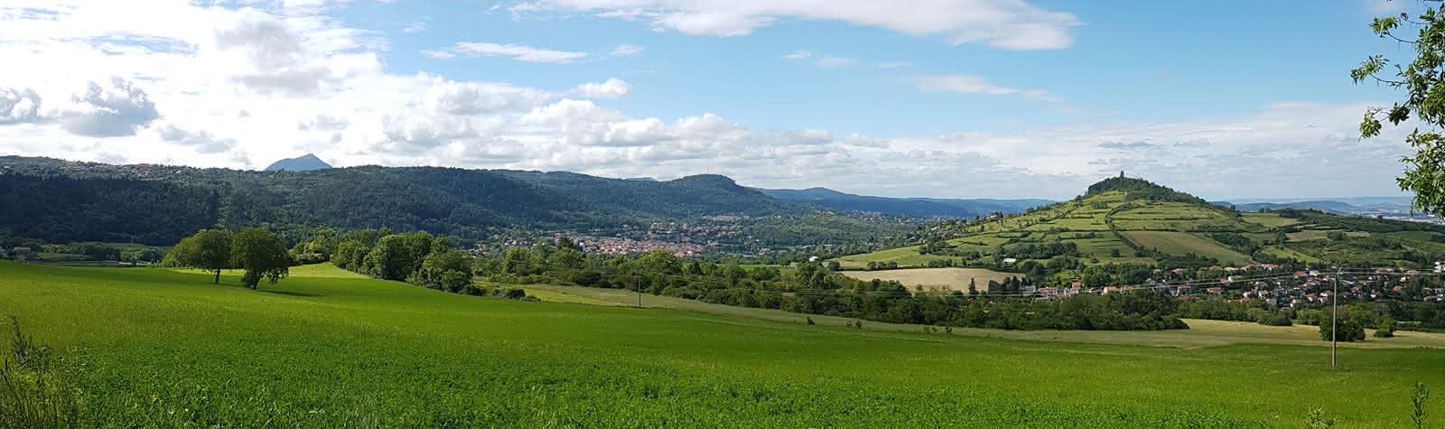 Plaine de Laschamps à Saint-Genès-Champanelle