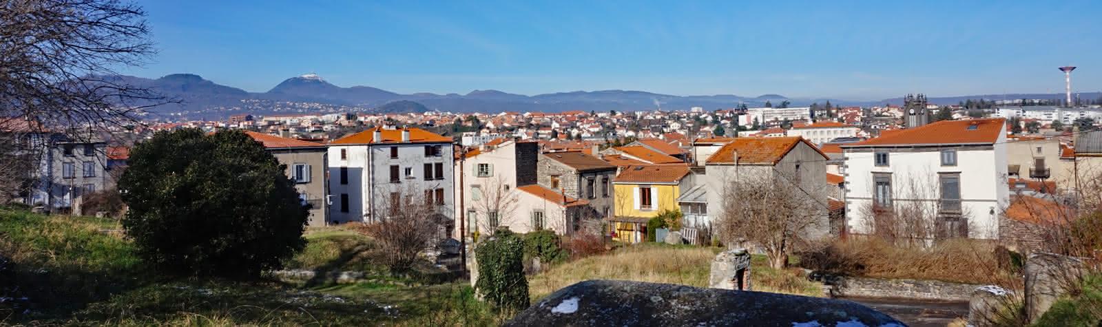 Vue panoramique d'Aubière