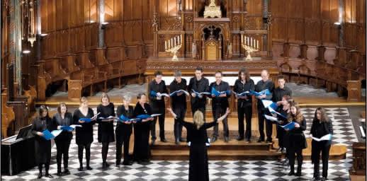Chœur, trompette et orgue