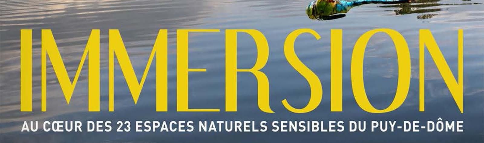 © Exposition Immersion au cœur de 23 espaces naturels sensibles
