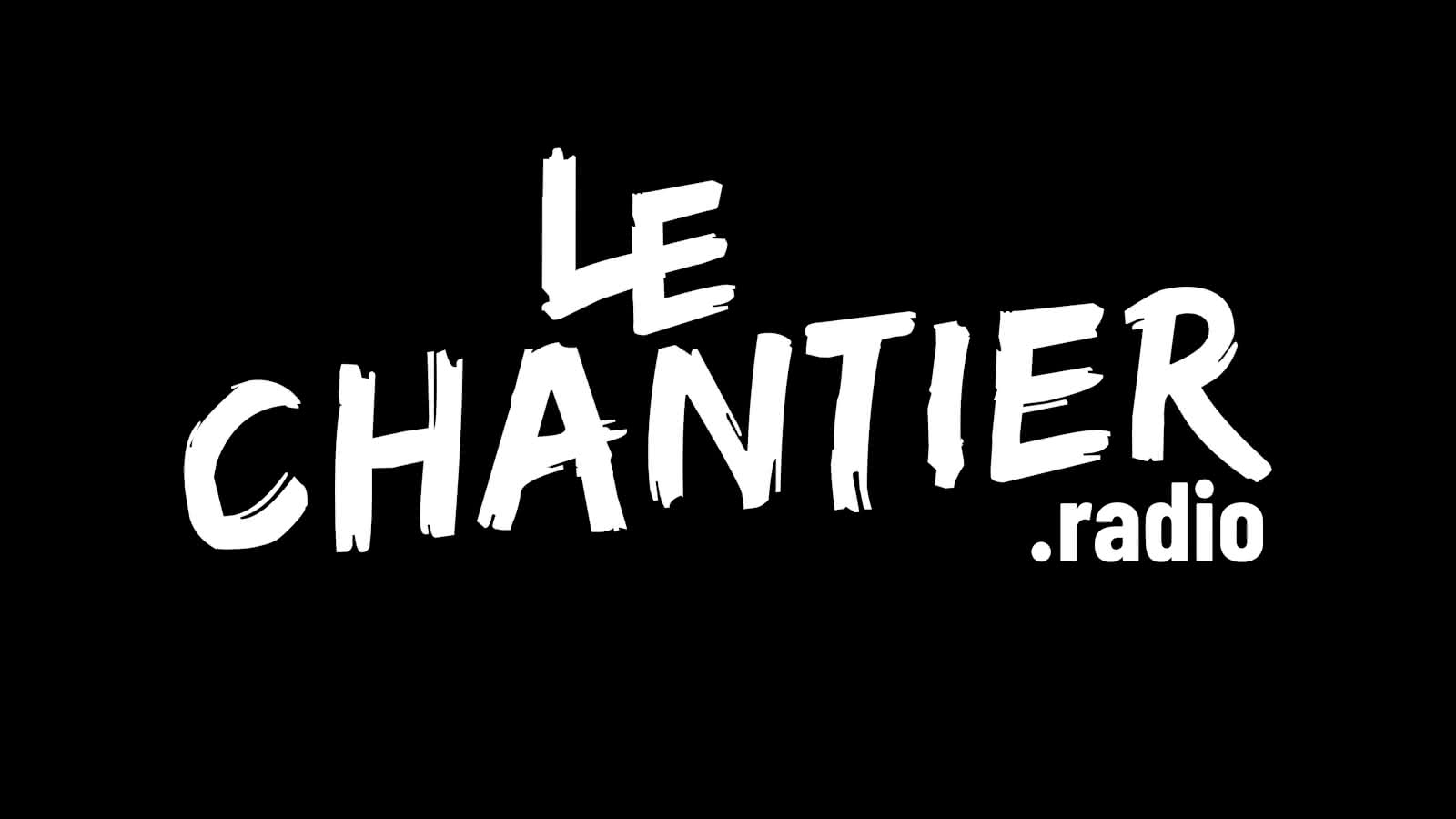 © Le Chantier Logo Blanc