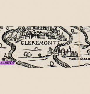 Emplacement de la léproserie d'Herbet, 1560