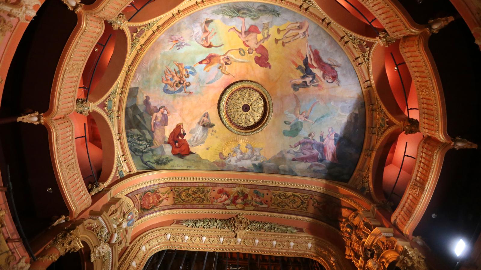 © Plafond de l'Opéra