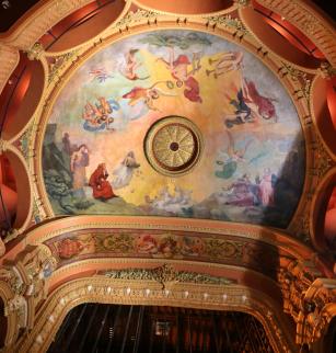 Plafond de l'Opéra