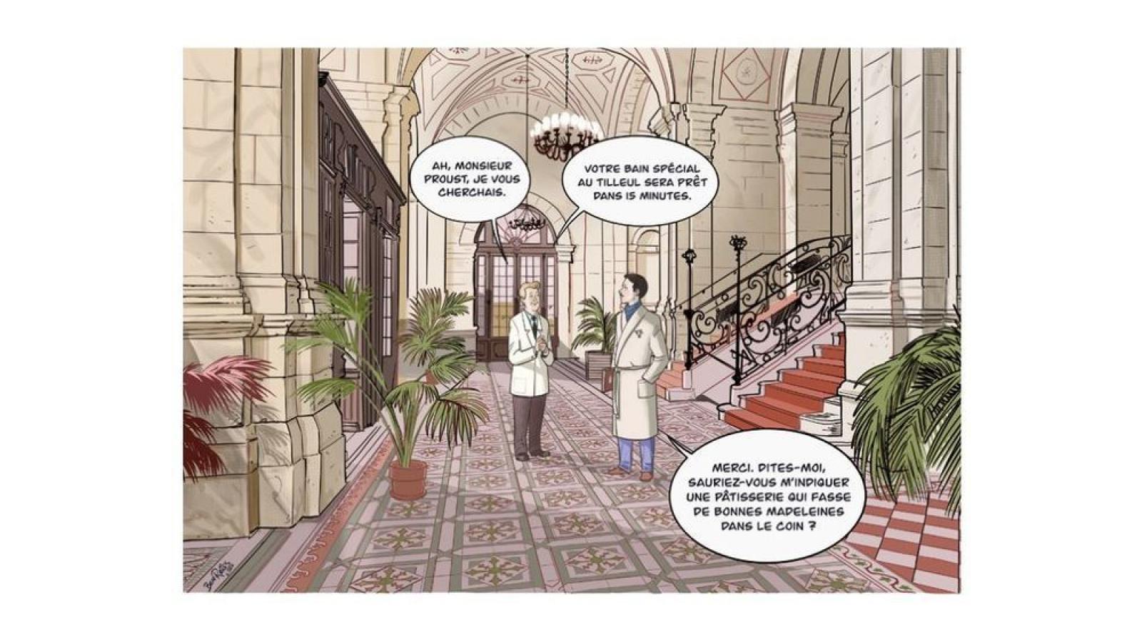 © Patrimoine en bande dessinée - DRAC