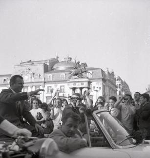 Youri Gagarine, place de Jaude