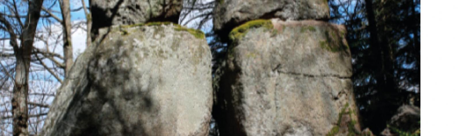 © Rocher du diable sur le parcours du «Chaos de lka faille»