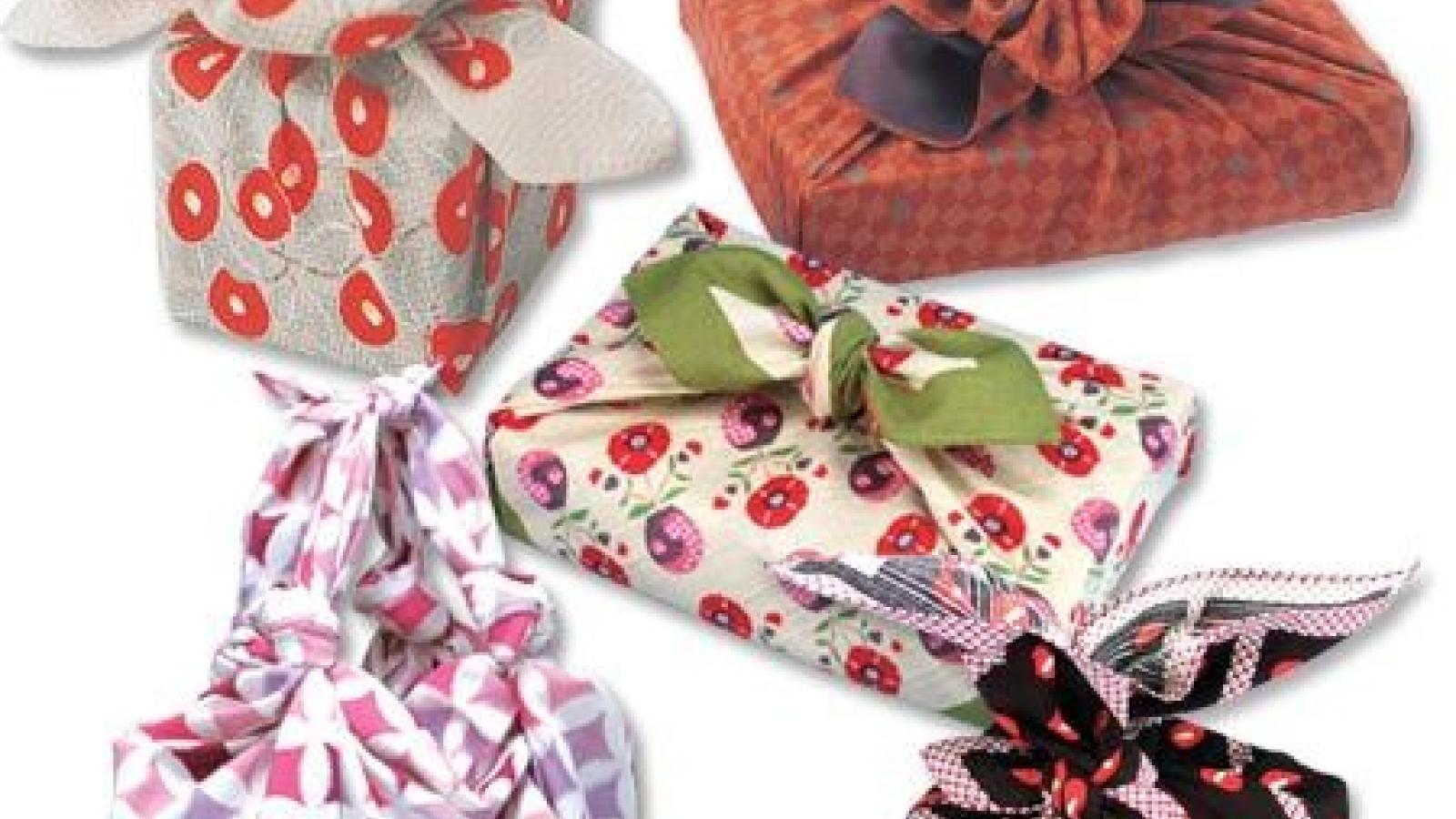 © Atelier Furoshiki ou l'art d'emballer ses cadeaux sans déchet