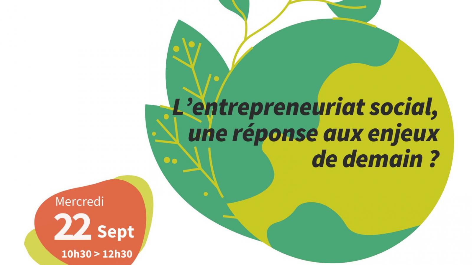 © Conférence : L'entreprenariat social, une réponse aux enjeux de demain