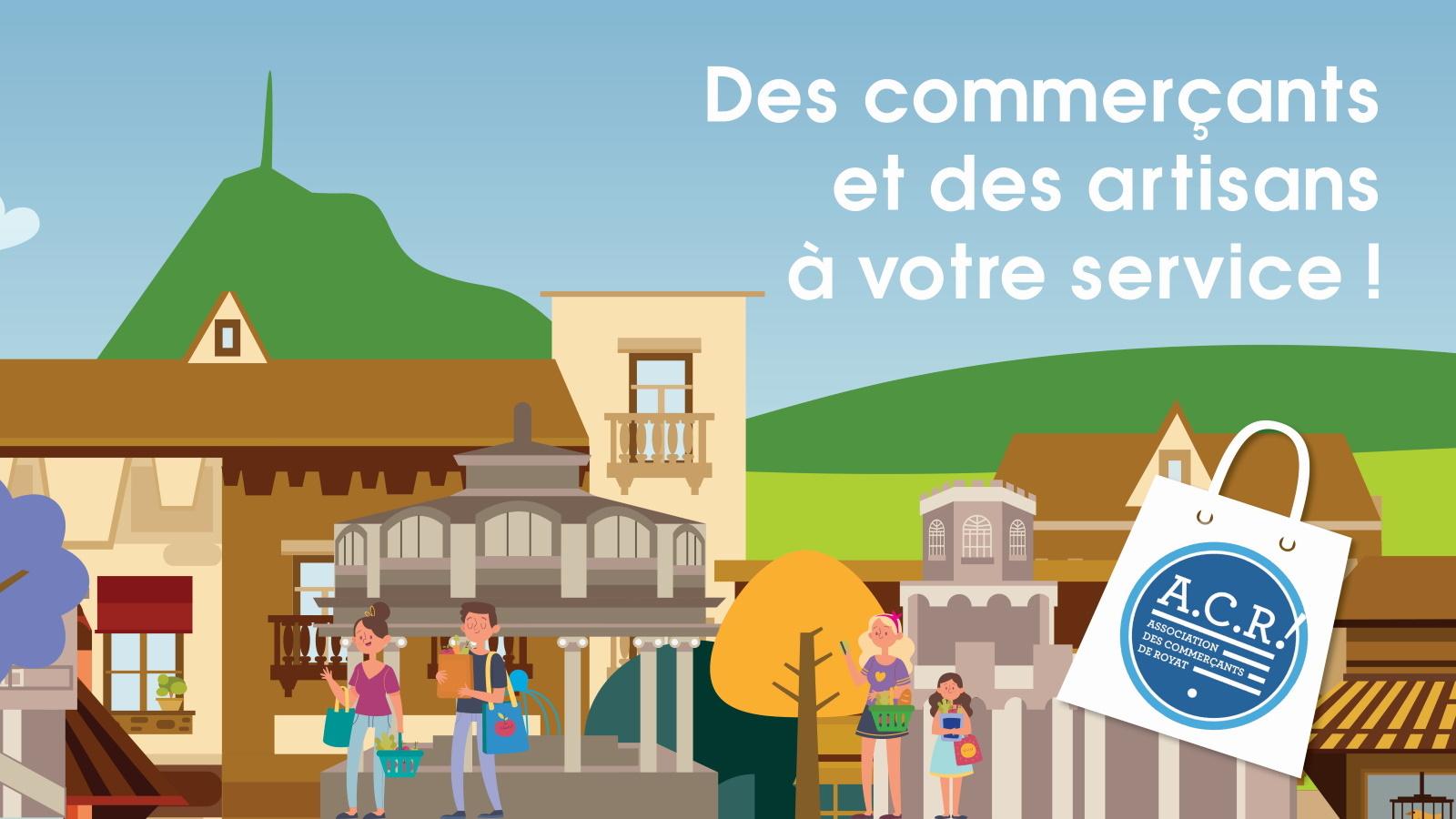 © Association des commerçants de Royat