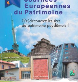 Programme - les sites phares du Conseil départemental - Journées européennes du patrimoine 2021