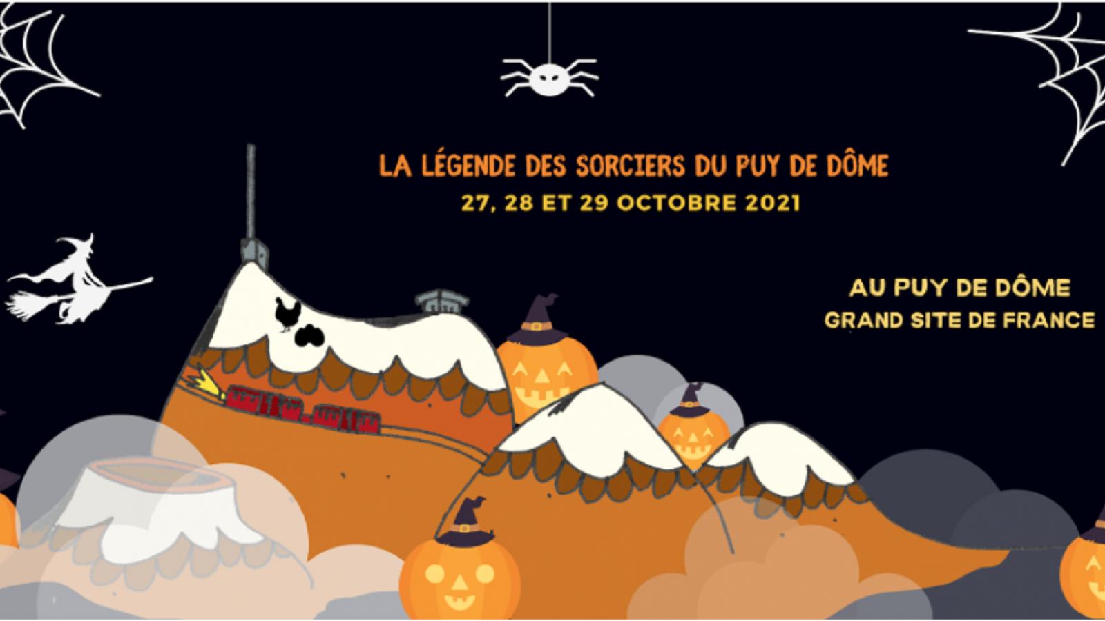 © Halloween au puy de Dôme