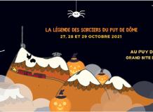 Halloween au puy de Dôme