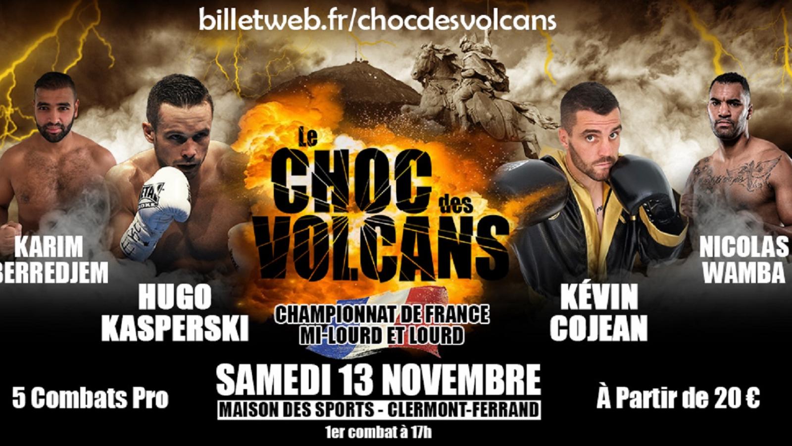 © Le Choc des Volcans