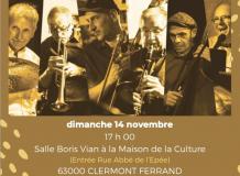 Concert du Gatec Jazz Band au profit de l'association UNAFAM