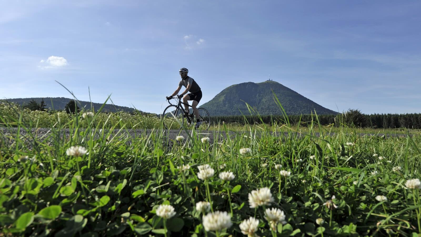 Vélo de route - puy de Dôme