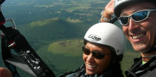 Flying puy de Dome