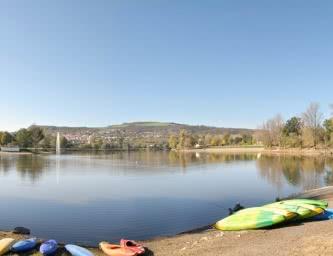 Plan d'eau zone de loisirs Cournon-d'Auvergne