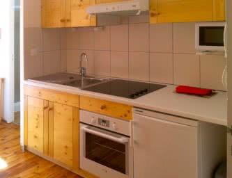 Locations meublés Chalet Camille appartement 12 cuisine