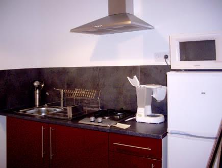 Villa Rocher cuisine