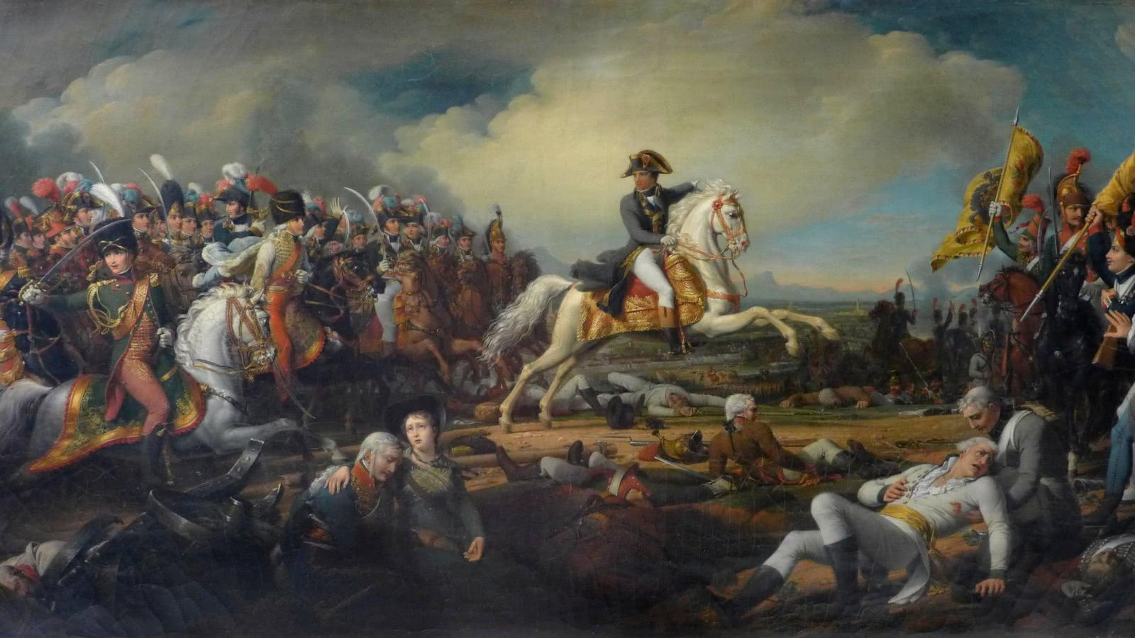 La bataille de Marengo