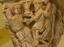 Chapiteau de la Basilique Notre Dame du Port
