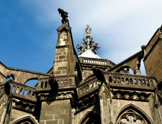 Chevet de la cathédrale Notre-Dame de l'Assomption à Clermont