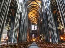 nef de la cathédrale Notre-Dame de l'Assomption à Clermont