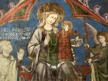 peinture de la cathédrale Notre-Dame de l'Assomption à Clermont