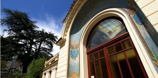 Pavillon Saint-Mart à Royat. Patrtimoine thermal