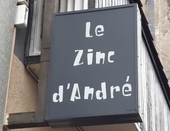 Le zinc d'André