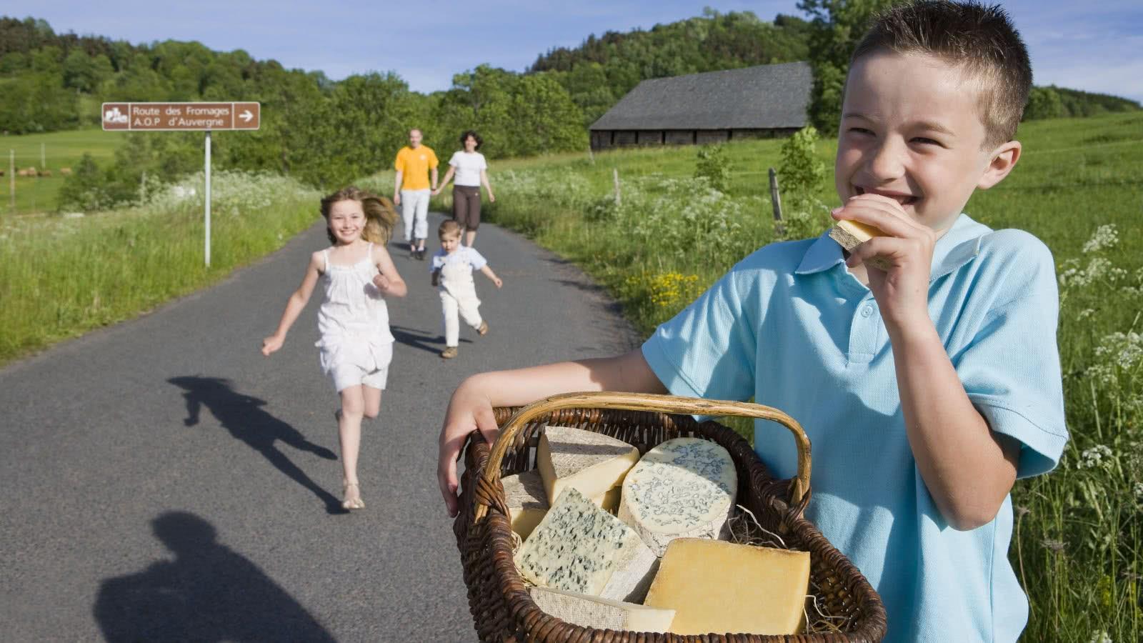 La Route des Fromages AOP d'Auvergne